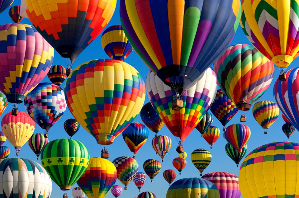 HOT AIR BALLOON. THE MOST INTERESTING FACTS
