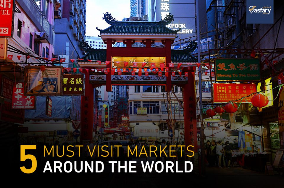 5 Must-Visit Markets Around the World
